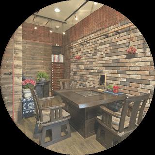 カフェ風個室