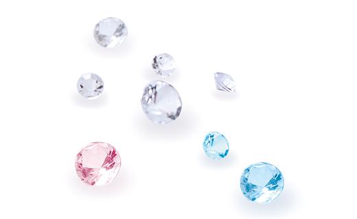 ダイヤモンド5石プレゼント
