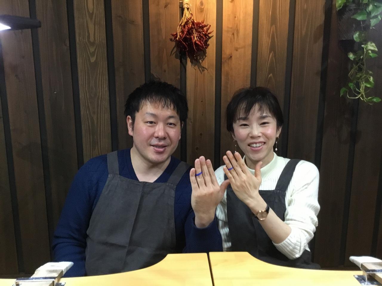 Mさん夫妻